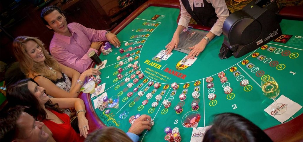 How to play EZ Baccarat - California Grand Casino