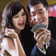 Couple in the casino