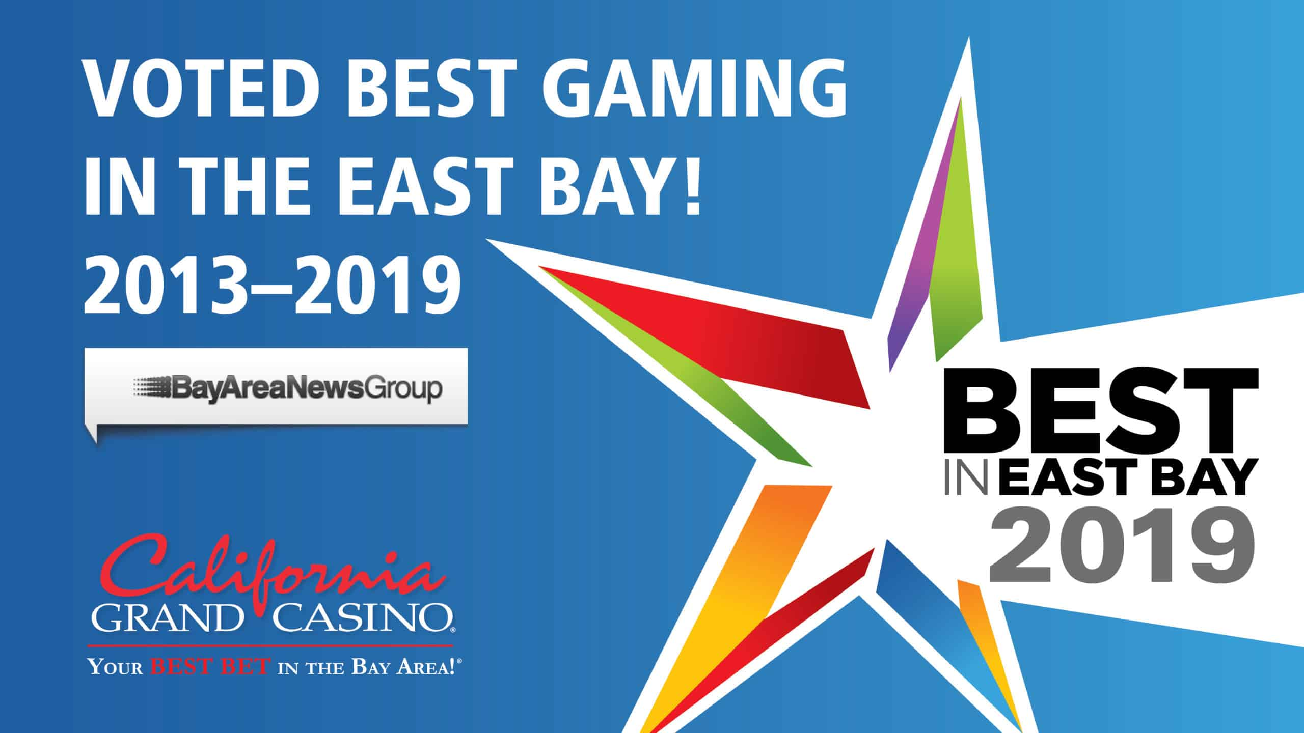 Bay Area News Group Award Best of the East Bay