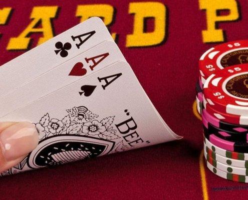 three card poker at the california grand casino